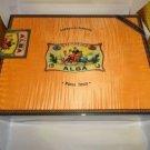 Elie Bleu Alba Orange Sycamore Wood  Humidor 200 Count