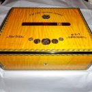 Elie Bleu Medals Yellow Sycamore  Humidor 75 ct
