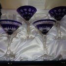 FABERGE MARTINI GLASSES IN  THE ORIGINAL PRESENTATION BOX