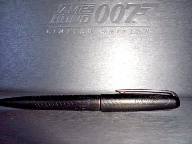 st dupont james bond 007 ball point pen  Black PVD