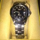 Invicta 8932 Pro Diver Quartz 3 Hand Black Dial Watch