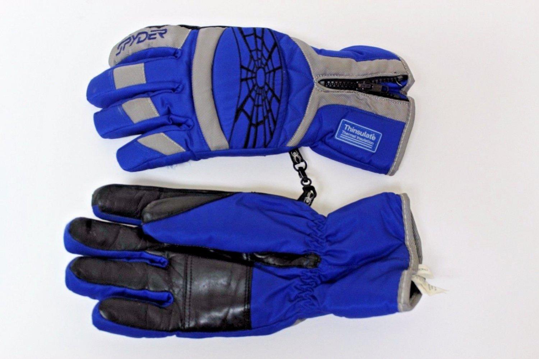 Spyder Thinsulate Blue Ski  Gloves Large size