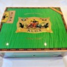 Elie Bleu Flor de Alba  Pistachio Green Humidor 75 Ct new in the original box