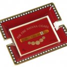 Elie Bleu Medals Red Ashtray