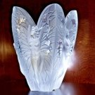 "Lalique Chrysalide Vase in the original presentation box 11.25"" H x 8.5"" W"