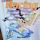 Key West  Offshore Powerboat Racing T-Shirt Large