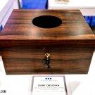 Elie bleu Green Ebony Wood with Obsidian Humidor 110 ct