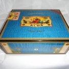 Elie Bleu Alba Blue Sycamore Wood  Humidor 75 ct