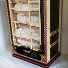 Elie Bleu Alba Black Sycamore Cabinet Humidor