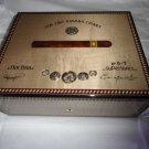 Elie Bleu Medals Grey Sycamore Humidor 75 ct