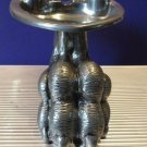 Figura Peiro Designer Pewter Lions Paw Ashtray
