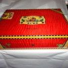 Elie Bleu Flor de Alba Red Humidor 110 Count NIB Made in France