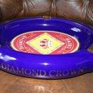Diamond Crown Ceramic Ashtray
