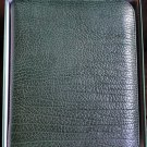 pheasant by R.D.Gomez made in Spain Green  Leather Case