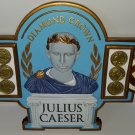 Diamond Crown Julius Caesar Wall Plaque