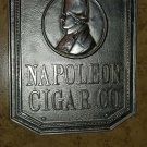 Napoleon Co. Nickel plated Bronze Wall Plaque