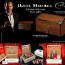 Daniel Marshall Black Matte Humidor 125 ct.