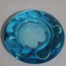 Blue Crystal Circle Ashtray