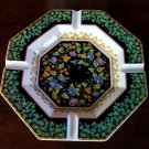 Rosenthal Versace Gold Ivy Ash Tray--Larger Size 9 inch