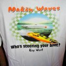 Makin Waves  Offshore Powerboat Racing T-Shirt Large