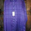 Robert Graham Purple Long Sleeve Shirt - Size Medium - New