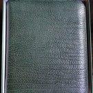 pheasant by R.D.Gomez made in Spain Green Cigar Case