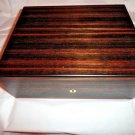 Elie Bleu Macassar Ebony Wood  Humidor 75 ct