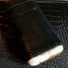 Andre Garcia Black  leather  case