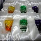 Faberge  Vodka Glasses  set of 6 without the original Faberge box
