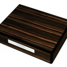 Prometheus Travel Humidor - Macassar Ebony