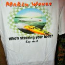 """"""" Makin Waves """"  Offshore Powerboat Beefy-T Shirt"""