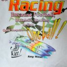 Hanes Beefy-T Offshore Racing  T-Shirt