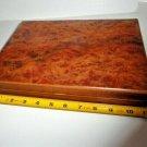 Mastro de Paja Burl Wood storage box # 7