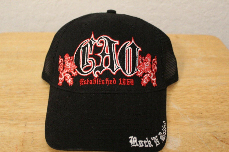 Black CAO Rock N' Rolled Hat