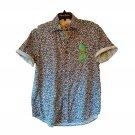 Robert Graham - Short Sleeve Sunglasses Printed Sport Shirt Classic Fit - Medium