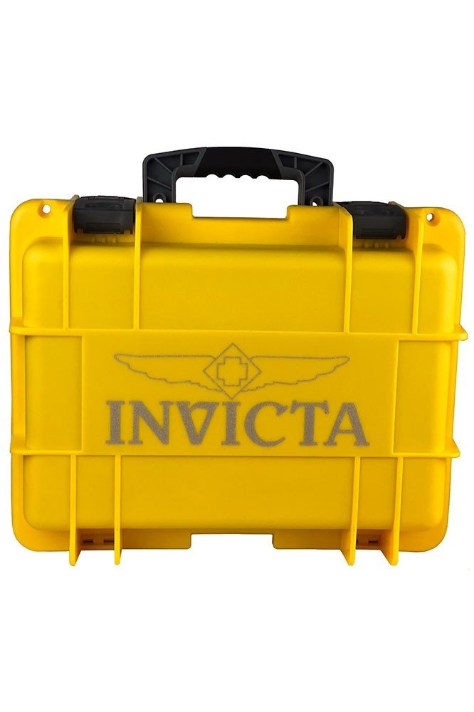 Invicta Yellow Impact Carrying Case 8 Slot