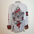 Rebel Spirit Gray  Royalty Shirt  Men's Medium
