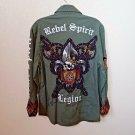 Rebel Spirit Hunter Green Legion Shirt Men's Medium