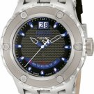 INVICTA SUBAQUA SPECIALTY QUARTZ WATCH - STAINLESS STEEL CASE W/BLKLEATHER BAND