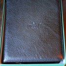 Pheasant Leather Black Carrying Case