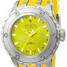 INVICTA SUBAQUA QUARTZ WATCH - STAINLESS STEEL CASE WITH YELLOW TONE RUBBER BAND