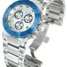 INVICTA RESERVE OCEAN REEF QUARTZ WATCH - BLUE, STAINLESS STEEL CASE and BAND