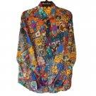 Robert Graham - Colorful Long Sleeve - Men's XXXL Button Down Classic Fit