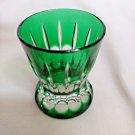 Faberge Emerald Green Na Zdorovye  Crystal Shot Glass