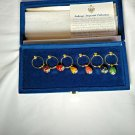 Faberge    Wine Charms   New in the Box