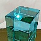 R. Austria Blue Crystall Box Art Sculpture