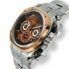 Baldinini Men's Chronographer Watches |  Chronograph Burgundy/Orange (62623705)