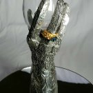 Lord of the Rings Pewter  Hand of Elrond  with Ring of Fire by Royal Selangor