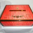 Elie Bleu Medals Coral  Sycamore Humidor 75 Count new in original box