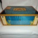 Elie Bleu Alba Blue  Sycamore Wood  Humidor 200 Count